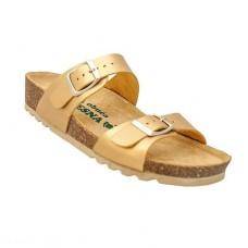 Ženska anatomska papuča | V-001 zlatna | 36-42