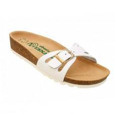 Ženske anatomske papuče | V-004 bela | 36-42