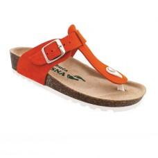 Ženske anatomske papuče | V-006 narandzasta | 36-42