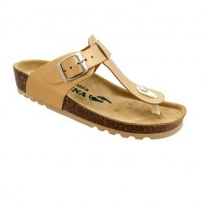 Ženske anatomske papuče | V-006 zlatna| 36-42